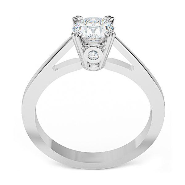 Anello di Fidanzamento Cielo Oro 18 ct. Diamante 0.70 SI1