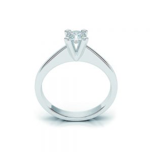 Anello di Fidanzamento Essenza Oro 18 ct. Diamante 0.90 SI1